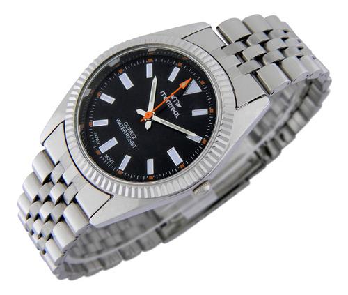 Reloj Montreal Mujer Ml916 Malla De Acero Inoxidable