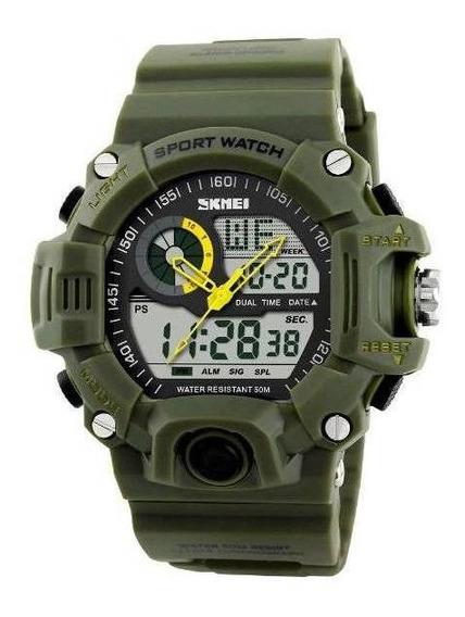 Relógio Original Skmei Mo 1029 Verde
