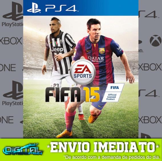 Fifa 2015 15 Pt-br Ps4 Jogo Digital Envio Em 10 Minutos!