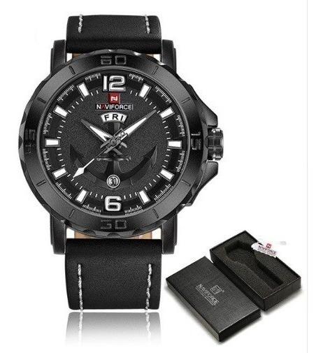 Relógio De Pulso Naviforce Nf9122m Preto - Pronta Entrega