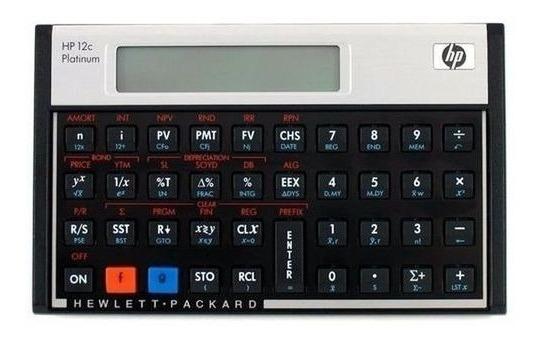 Calculadora Hp Financeira 12c Platinum 100% Original