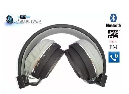 Fone Ouvido Headphone Bluetooth Mp3 Rádio Fm Micro Sd A-833