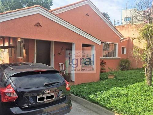 Casa À Venda, 300 M² Por R$ 1.180.000,00 - Cidade Vargas - São Paulo/sp - Ca0342