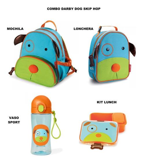 Combo Skip Hop Para Preescolar Diseño Perrito 100% Original