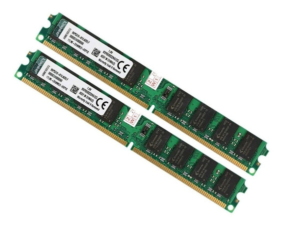 Kit 4 Gb Memoria Ddr2 (2x2gb) 800mhz Kingston Original