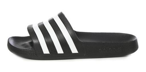 Sandalias adidas - Adilette Negras Para Dama 4 Mx 5 Mx