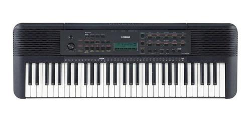 Imagen 1 de 3 de Teclado musical Yamaha PSR-E273 61 teclas Negro