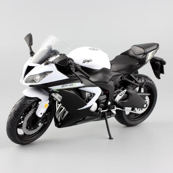Miniatura Moto Kawasaki Zx6 1:12