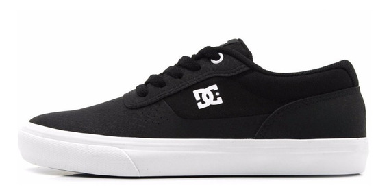Tenis Dc Preto Shoes Switch Le La