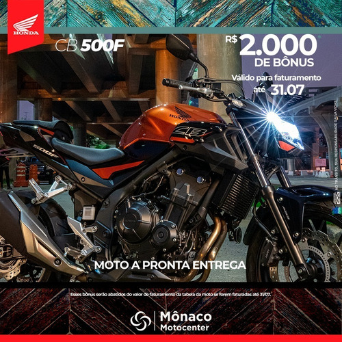 Imagem 1 de 1 de Honda Cb 500 F