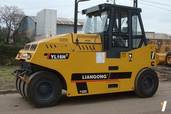 Compactador Neumático Yl16h Liangong Motor Cummins 103 Hp