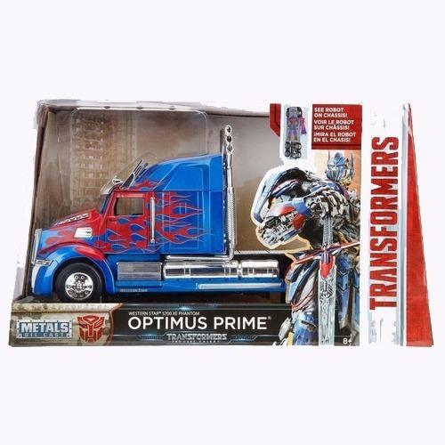 Transformers Camion Western Star Optimus Prime Escala 1:32