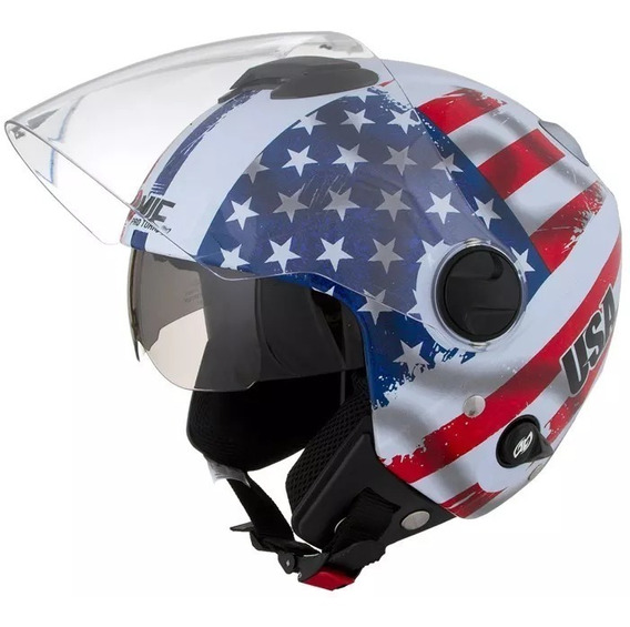 Capacete New Atomic Usa - Pro Tork