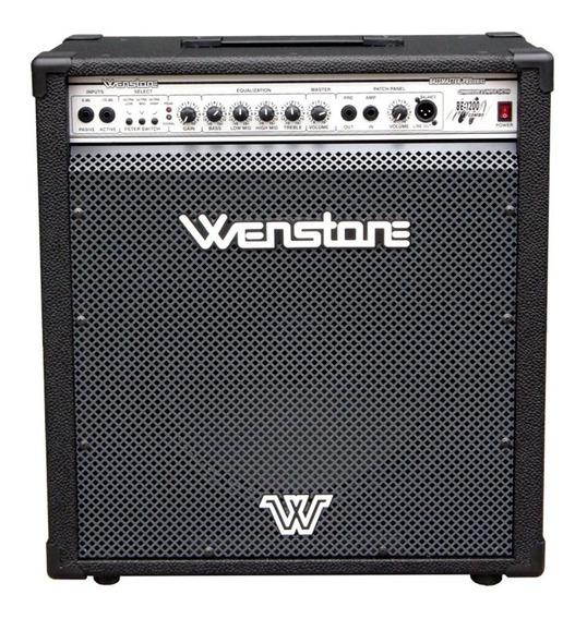 Amplificador P/ Bajo Wenstone Be1200 Combo 120 Watts