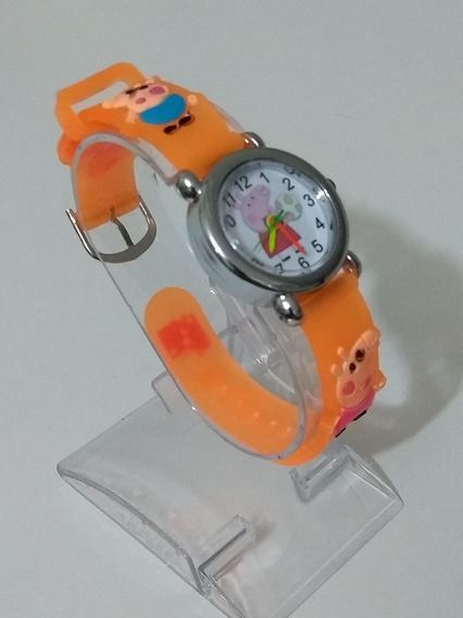Relógio Para Crianças Peppa De Pulso