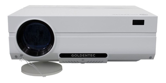 Projetor Goldentec Gt3500 Full Hd 3500 Lumens Hdmi, Usb, Vga