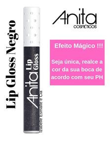 Anita Batom Lip Gloss Negro 4ml - 9059 - Efeito Mágico !!!!!