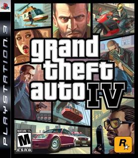 Grand Theft Auto Iv Ps3 (10gb) - No Codigo