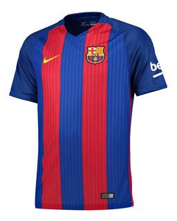 Camisa Barcelona Oficial Nike Vermelho Azul