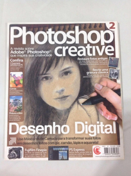 Revista Photoshop Creative Lote Com 34 Revistas (2 Ao 35)