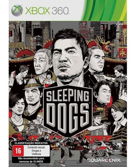 Game Xbox 360 Sleeping Dogs - Usado Excelente