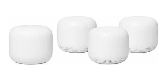 Router Google Nest Wifi 4-pack Smart Wifi Potenciados B 8151