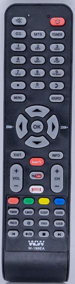 10 Controle Remoto Tv Led Semp Tcl Rc199e L32s4700s L40s4700