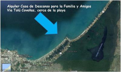 Alquiler Casa Vacacional Tolu Coveñas Playa Brisa