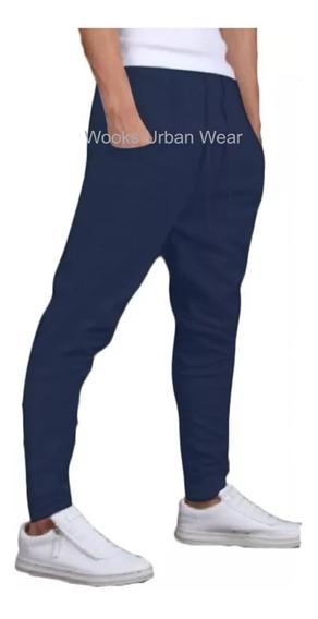 Calça De Moleton Masculina Saruel Skinny Sport Luxo M5