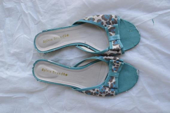 Sapato Calçado Rasteirinha Sylvia Brandao Numero 35 Usada
