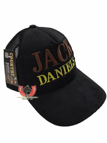Boné Trucker Jack Daniel