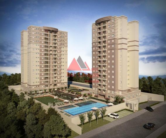 Apartamento Residencial À Venda, Residencial Ibéria, Sorocaba. - Ap0050