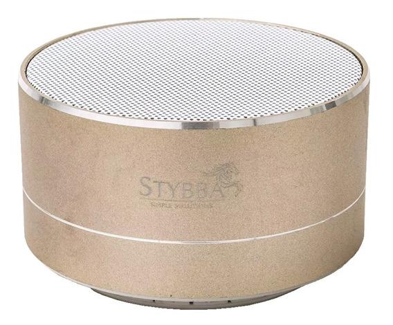 Parlante Stybba Bluetooth Gold