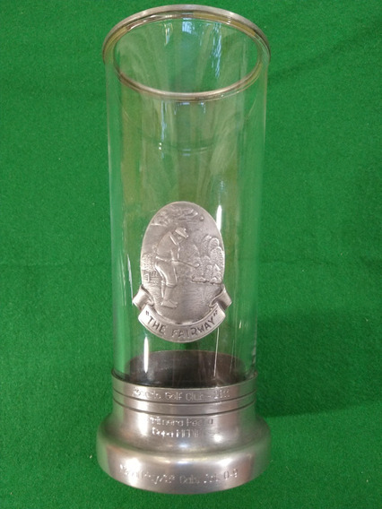 Trofeo Vaso De Golf Black Carabajal. Copa Premio Golf