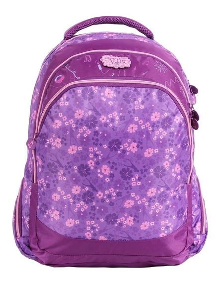 Mochila Costas Juvenil Tam G - Disney Violetta Coleção Dmw