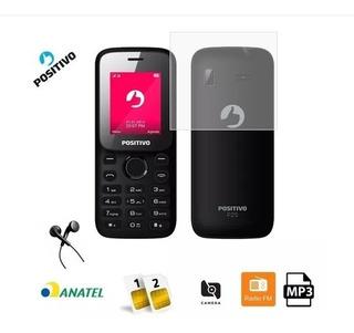 Telefone Celular Idoso 2 Chips Desbloqueado Câmera Fm Mp3