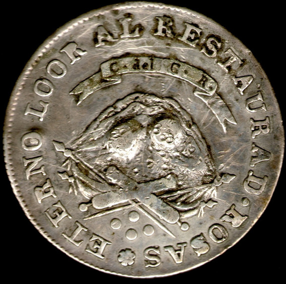 Spg Argentina La Rioja 4 Reales 1850