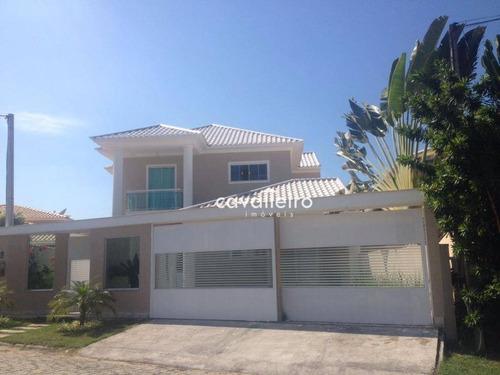 Casa Com 3 Dormitórios À Venda, 400 M² - Centro - Maricá/rj - Ca2460