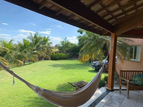 Chácara Com 2 Dormitórios À Venda, 3000 M² Por R$ 1.500.000,00 - Jardim Residencial Alto Do Flamboyant - Limeira/sp - Ch0010