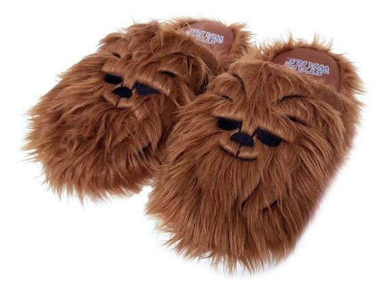 Pantufa Chewbacca Star Wars Licenciado Sola Borracha Oferta