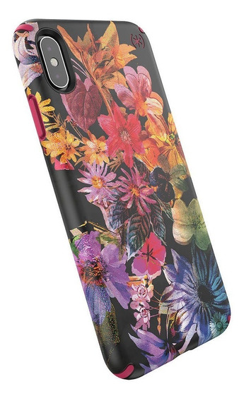 Funda Para iPhone Xs Max Speck Presidio Inked Flores