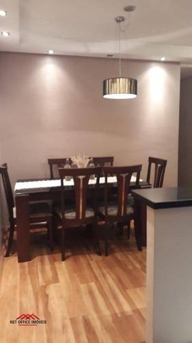 Imagem 1 de 18 de Apartamento Com 3 Dormitórios À Venda, 70 M² Por R$ 405.000,00 - Conjunto Residencial Trinta E Um De Março - São José Dos Campos/sp - Ap1165