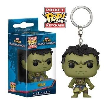 Funko Pop! Keychain: Thor Ragnarok - Casual Hulk - Funko Pop
