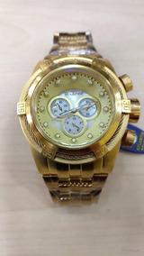 Relógio Masculino Atlantis Bolt Original Dourado Frete Grati