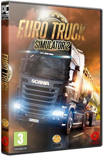 Euro Truck Simulator 2 Complete Edition Pc Dvd - Frete 8 R$