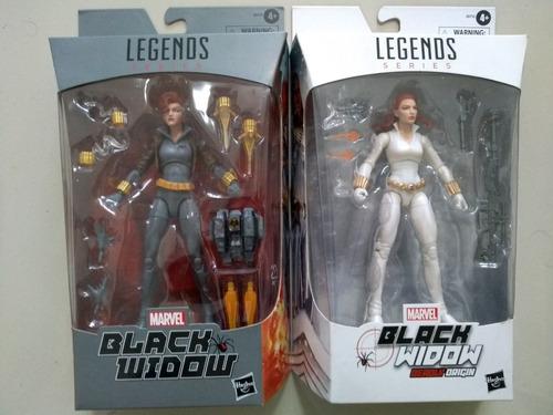 Imagem 1 de 3 de Marvel Legends: Lote C/ 2 Figuras Black Widow - Hasbro