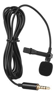 Micrófono De Solapa Andoer Ey-510a Pequeño Portátil Con Clip