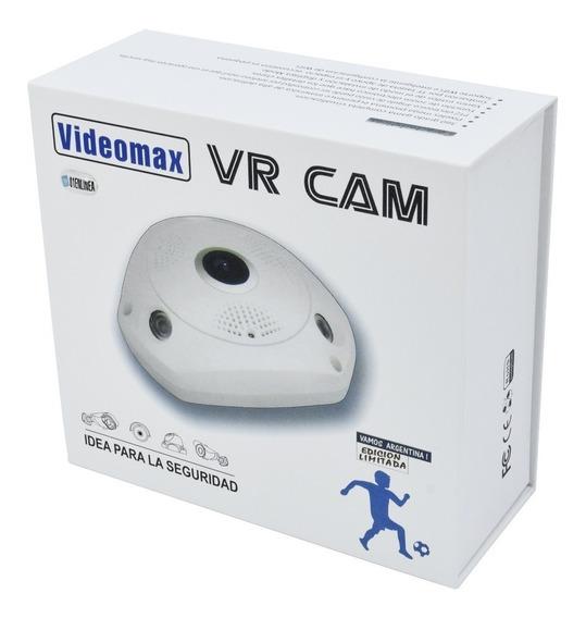 Camara De Seguridad Ip Vr Cam 360° Hd + Sonido Videomax1.3mp