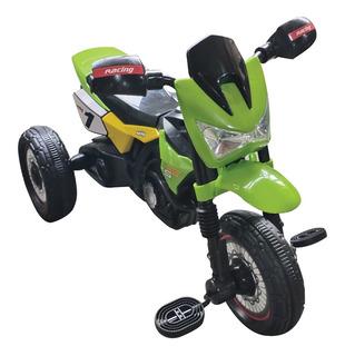 Triciclo Moto Cross Infantil Con Luces Y Sonidos