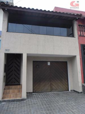 Sobrado Residencial À Venda, Vila Mazzei, Santo André. - So18973